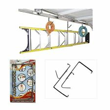 Hector Model Add-A-Hook Garage Door Storage Ladder J & L COMBO Organizer Hanging