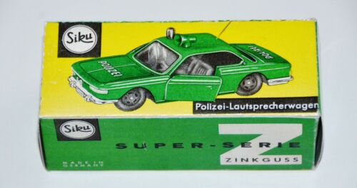 Reprobox siku V 341-policía-altavoces coche bmw 2000 CS p3-box
