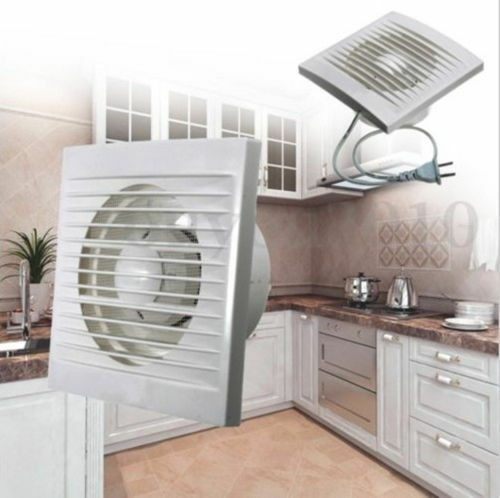 Ventilation Extractor Exhaust Fan Blower Window Wall Kitchen Bathroom Toilet