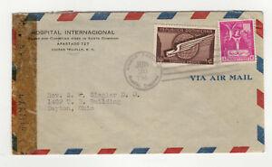 Republica-Dominicana-Republique-Dominicaine-timbres-sur-lettre-annees-40-B5A2