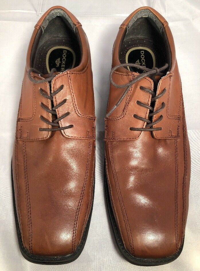 Dockers Men's Genuine Leather Bicycle Toe Lace-up Oxford shoes 90-27242 Size 11M