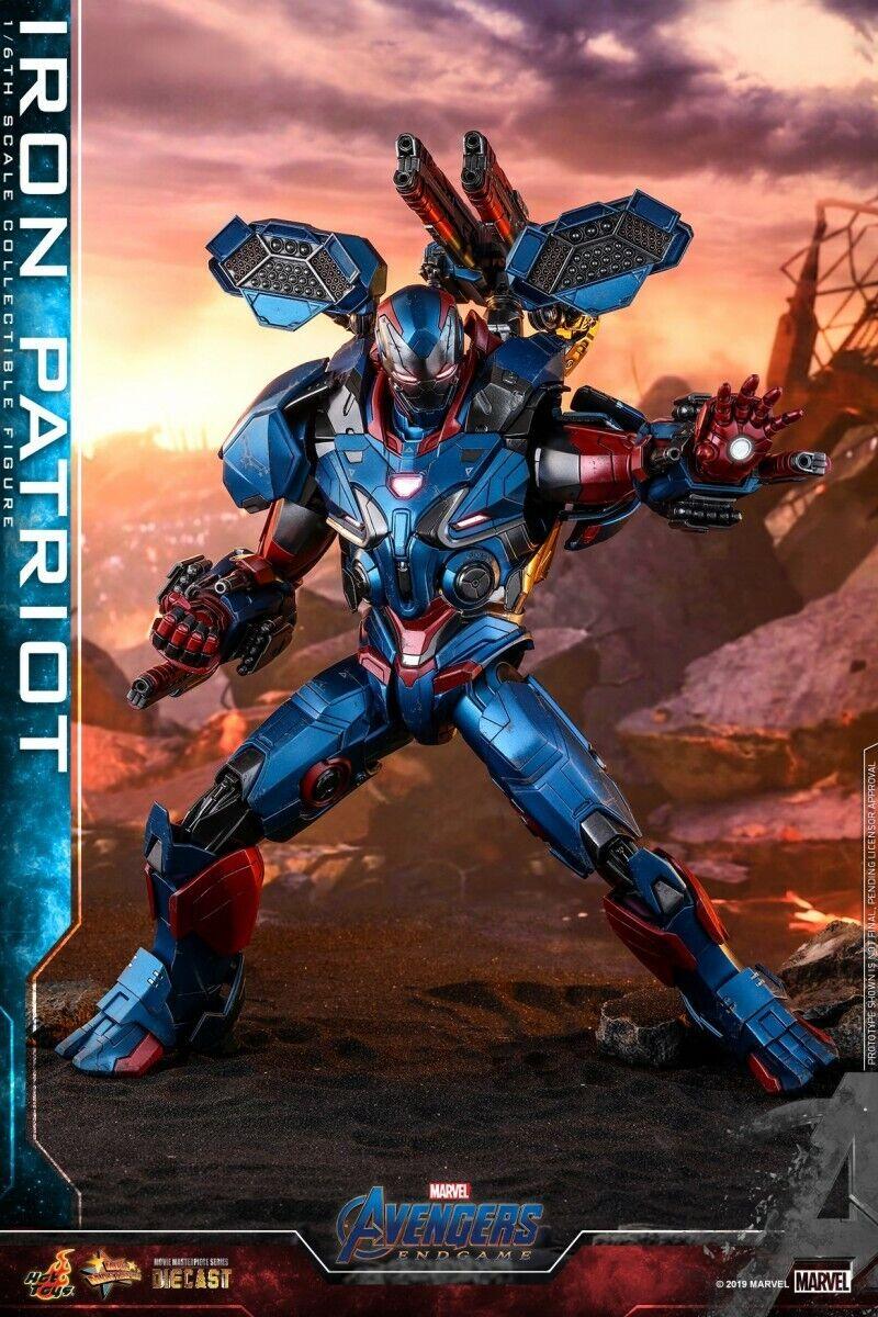 1 6 caliente giocattoli MMS547D34 Avengers Endgioco Iron Patriot  Diecast Solider cifra  vendita con alto sconto