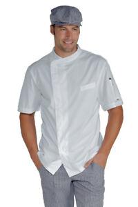 Chef Chef Veste Jacket Blanche Isacco 8FqR87