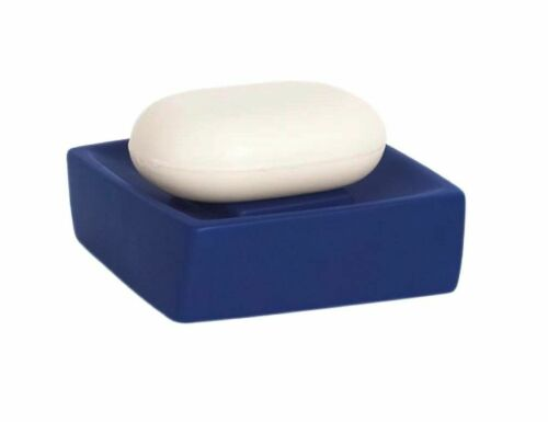 Soap Dish Twist Navy Blue High Quality Swiss Brand Earthenware Blue