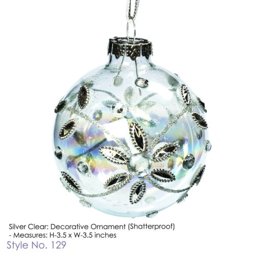 Holiday Time Christmas Holiday Shatterproof Ornament SELECT STYLE
