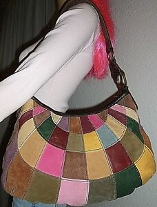Image Is Loading New Lucky Brand Multi Color Leather Amp Suede
