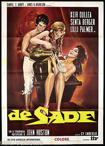 SADE-CARTEL-CINE-JOHN-HUSTON-SENTA-BERGER-SESSO-DRAMA-1969-MOVIE-CARTEL