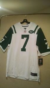 New NWT Nike ON FIELD Geno Smith New York Jets Men's Large L NFL Jersey  for cheap