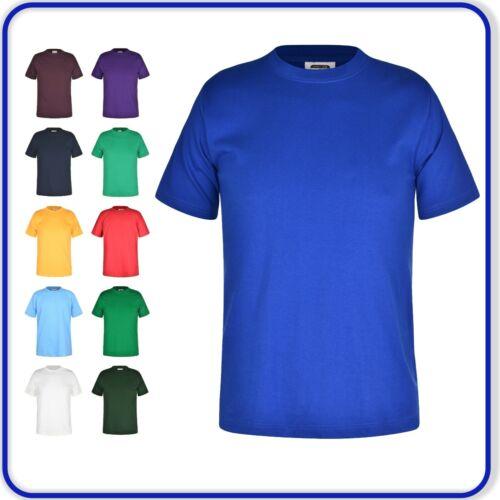 Camiseta Mangas Cortas Camiseta para Hombre Adultos Señoras Top de Verano Informal Color liso