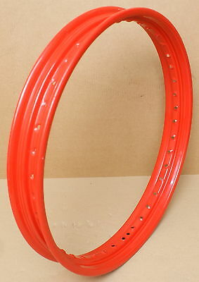 HARLEY ORIGINAL FELGE 21 X 2,15 ROT WHEEL RIM RED 40 SPEICHEN CUSTOM