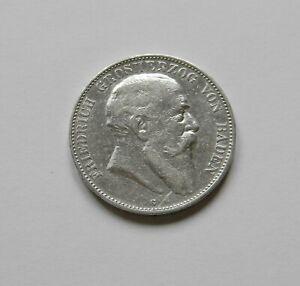 """Baden : 5 Marco 1903"""" Friedrich I. """", J. 33 , Muy Bonito, II Raro"""