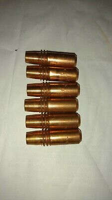 """100-pk 206188 .045/"""" .040AL Contact Tips for Miller FasTip Spoolmatic 15A 30A pro"""