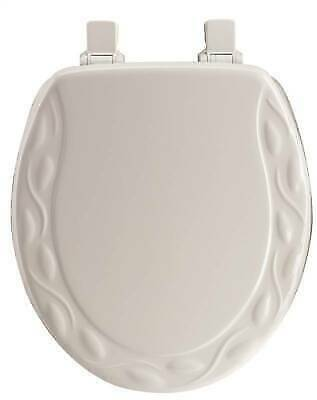 Pleasing Mayfair 34Ec 000 Toilet Seat Round Wood White For Sale Online Ebay Gamerscity Chair Design For Home Gamerscityorg