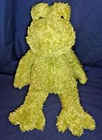 "JELLYCAT 17"" PLUSH FROG Stuffed Animal Soft Green FROGGY Jelly Cat"