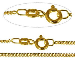 Fine 9Ct Gold Curb Chain 22 inch/1.4mm Ghsege