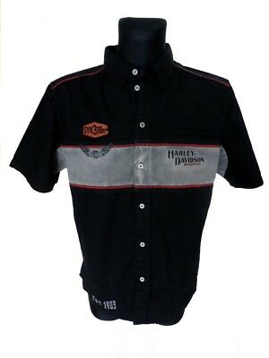 Harley-Davidson T-Shirt Wings of Chrome schwarz