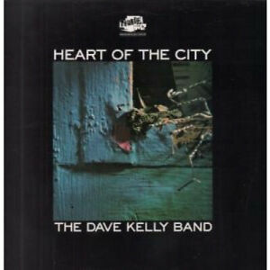 DAVE-KELLY-BAND-Heart-Of-The-City-LP-VINYL-UK-Thunderbolt-10-Track-Thbl059