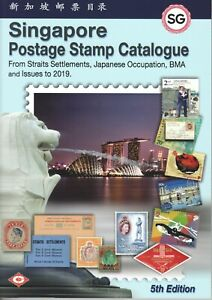 SINGAPORE-POSTAGE-STAMP-CATALOGUE-5TH-EDITION-JUST-PUBLISHED-AUGUST-2019-LATEST
