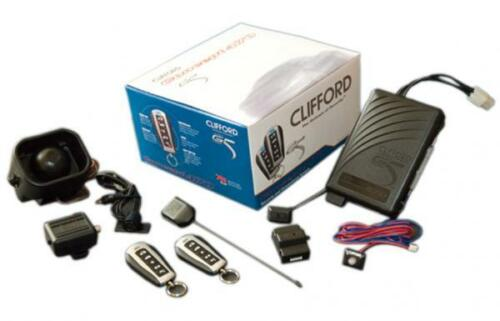 Clifford G5 Concept 470 Car Alarm and Immobiliser with Shock and Glass Break