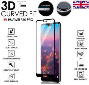 Site Officiel Pour Huawei P20 Pro Genuine 3d Complet En Verre Trempé 9 H Protecteur D'écran Housse-afficher Le Titre D'origine DéLicieux Dans Le GoûT