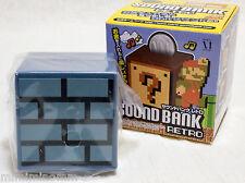 Super Mario Bros. Sound Bank Retro Brick Block Underground Figure JAPAN NES