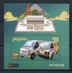 Filippine-2017-SERVIZI-POSTALI-Gomma-integra-non-linguellato-250th-1-V-M-S-Auto-Camion-FRANCOBOLLI