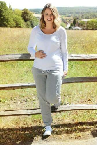 Short Petite, Regular, Long Tall Maternity Jogging Bottom Trousers