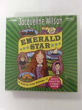 EMERALD STAR - JACQUELINE WILSON -  8 CD'S  AUDIO BOOK - NEW/SEALED
