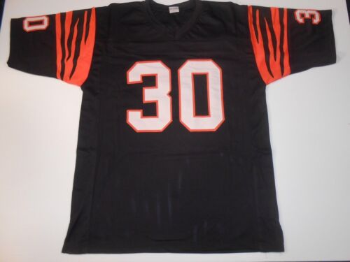 1 of 2 UNSIGNED CUSTOM Sewn Stitched Ickey Woods Black Jersey - M 6ffd0140b