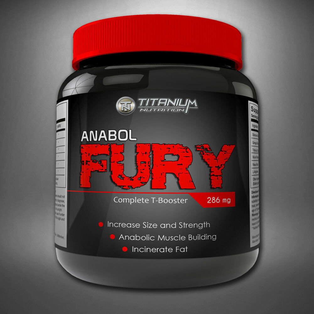 ANABOL FURY - STRONGEST - LEGAL TESTOSTERONE BOOSTER - STRONGEST DOUBLE-STRENGTH 30 CAPSULES f02646