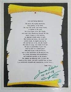 James-Files-Autograph-JFK-Poetry-Artwork-Grassy-Knoll-John-Kennedy-Grassy-Knoll