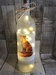Penguin Decorative Led Bottle