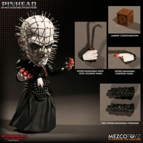 Hell On Earth Hellraiser 3 Pinhead Stylized Figure Mezco Toys