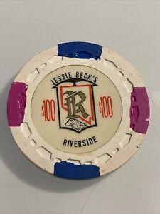 JESSIE BECKS RIVERSIDE CASINO $5 hotel casino gaming