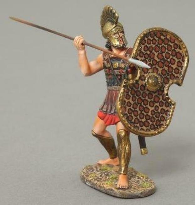THOMAS GUNN ANCIENT GREEKS & PERSIANS XE004B CYPRIOT MARINE THROWING SPEAR MIB