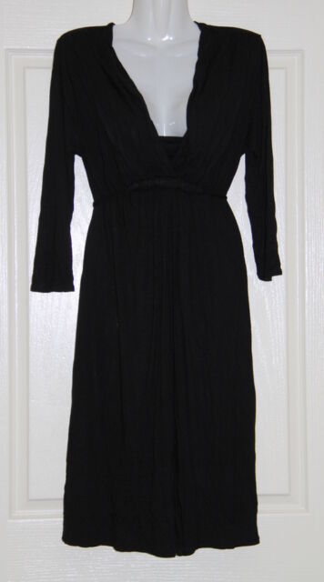 Womens size L (14) black stretchy dress made by CAPTURE