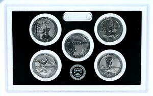 2018 America the Beautiful Quarters 2018 Proof Set Complete With Box And COA