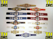 14 Custom Wrestling Figure Belts WWE WWF CURRENT 2019 (ACTION FIGS NOT INCLUDED)