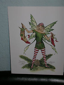 Amy Brown - Stocking Faery - OUT OF PRINT- RARE
