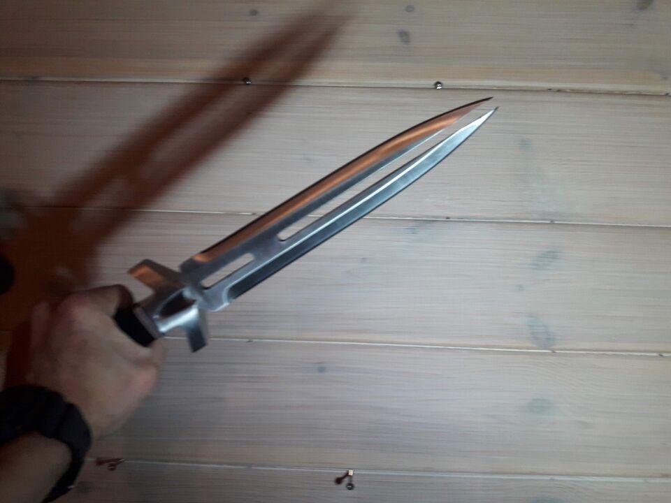 Jagtkniv, gil hibben