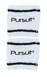 2X Sports Wrist Sweat Bands Wristbands Fitness Sweatbands Gym Tennis Logo Band