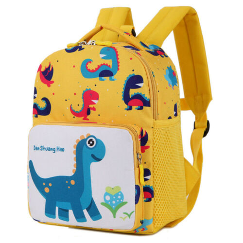 Cartoon Baby Toddler Kids Dinosaur Safety Harness Strap Bag Backpack with Rein J