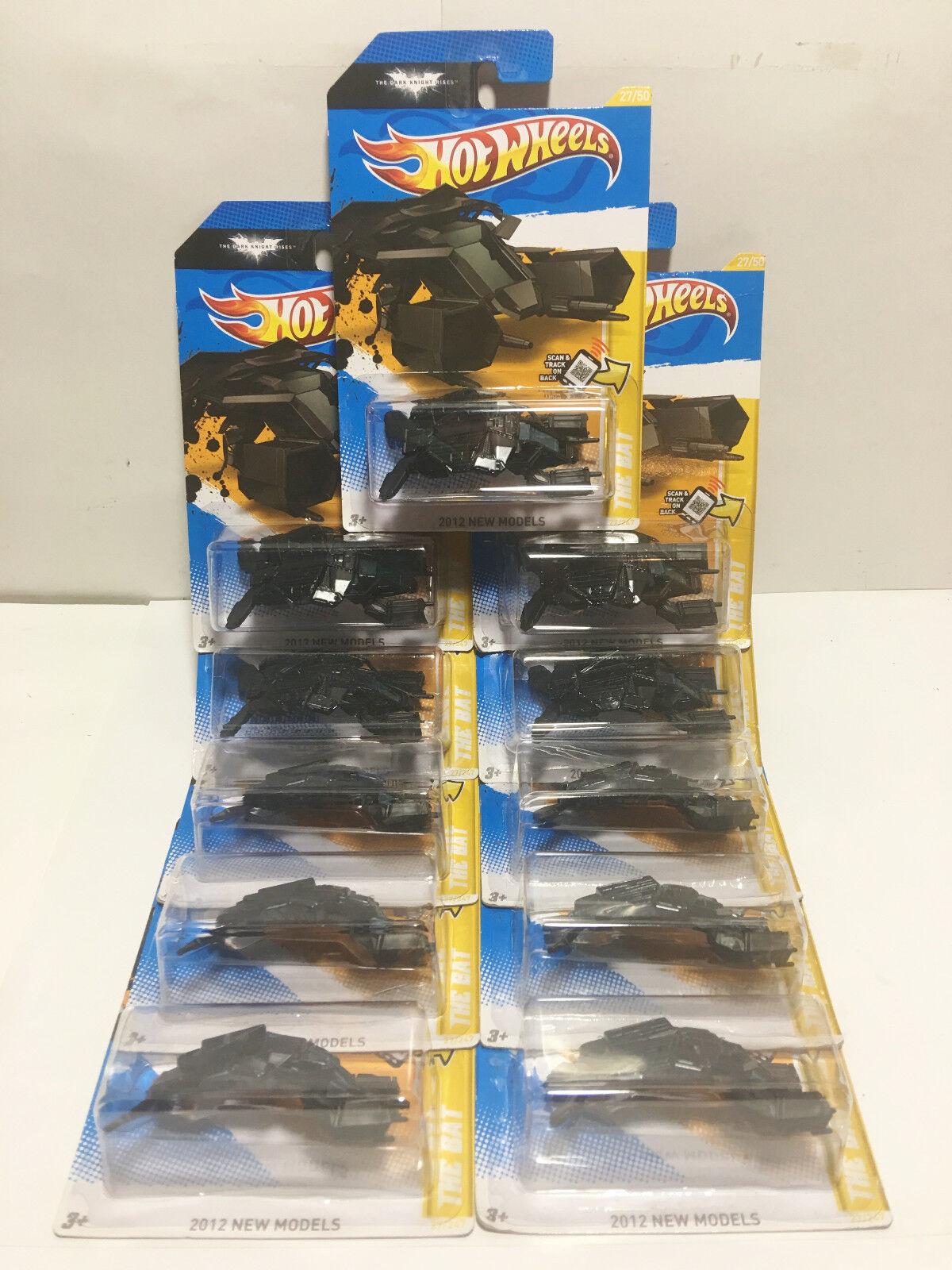 Lot de 11 2012 nouveaux modèles Batman Chauve-Souris NEUF