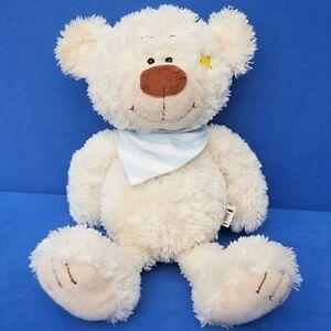 NANU-nana-TEDDY-ORSO-PELUCHE-Schlenker-Beanie-30-cm-ORSACCHIOTTO-BEAR-Stella
