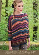 Louisa Harding L1302 Amitola Grande yarn - Marta - Single Pattern