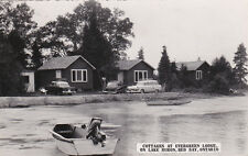 RP: Cottages, Evergreen Lodge, Lake Huron, Red Bay, Ontario , 30-40s