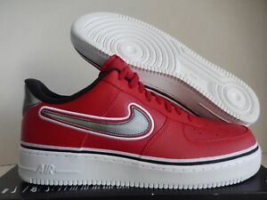 NIKE AIR FORCE 1 (RED )Low'07 LV8 NBA Sport ® Mens EXCLUSIVE
