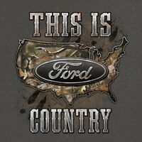 Ford Country Camo T Shirt Powered By Ford