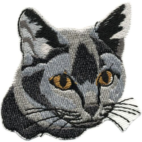Aufnaeher Patches Applikation Motiv 7 cm Kaetzchen Katzen Cat Katze 01837