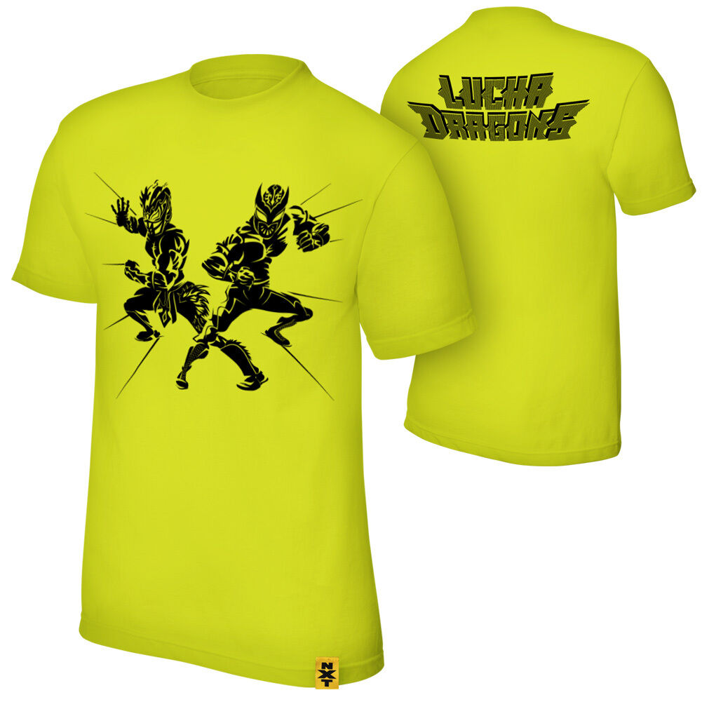 Official WWE - Sin Cara & Kalisto  Lucha Dragons  Authentic T-Shirt